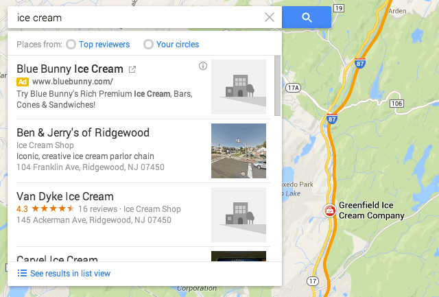 Google Launches New Local Search Algorithm Results