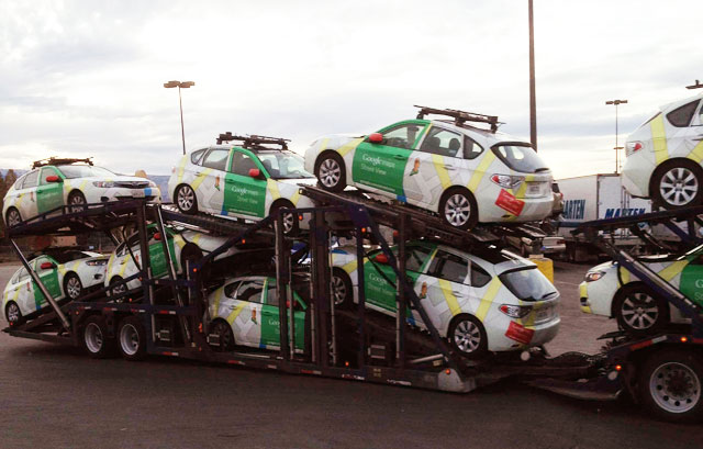 Google Maps Car Transporter