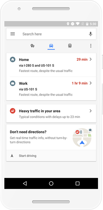 how to add a destination in google maps
