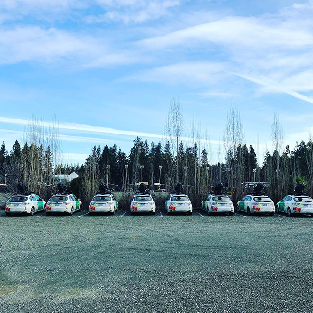 Google Maps Street View Car Fleet