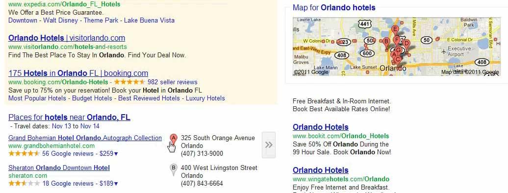 Google Maps Horizontal & Gray Pins