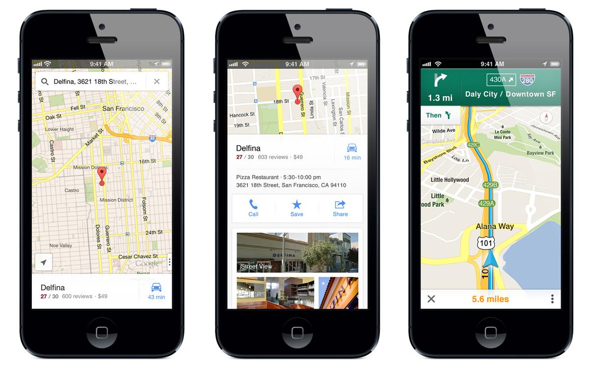 """Результат пошуку зображень за запитом """"Google Карты iphone"""""""