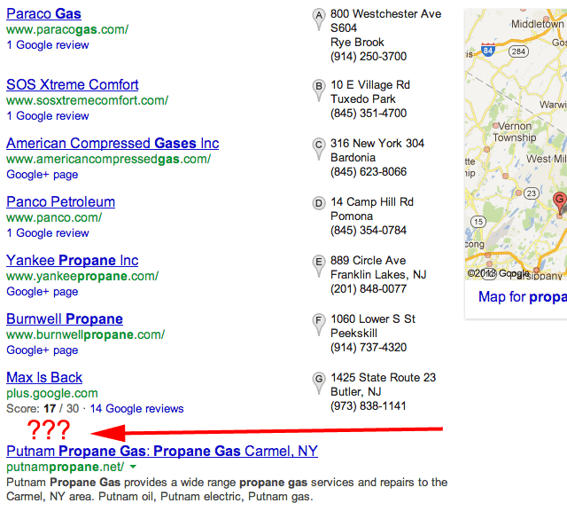 Google Local More Results Near Gone