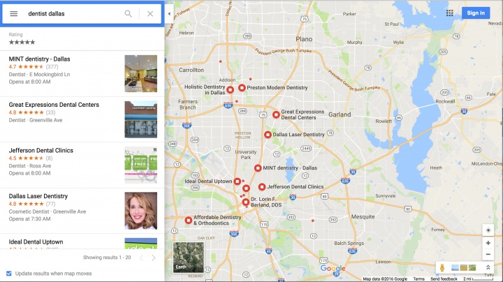 Google Maps Dropping Addresses From Listings