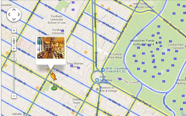 Google Maps Orange Indoor View