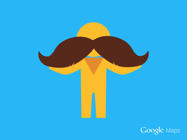 Google Pegman For Movember
