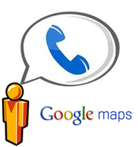 google maps phone calls