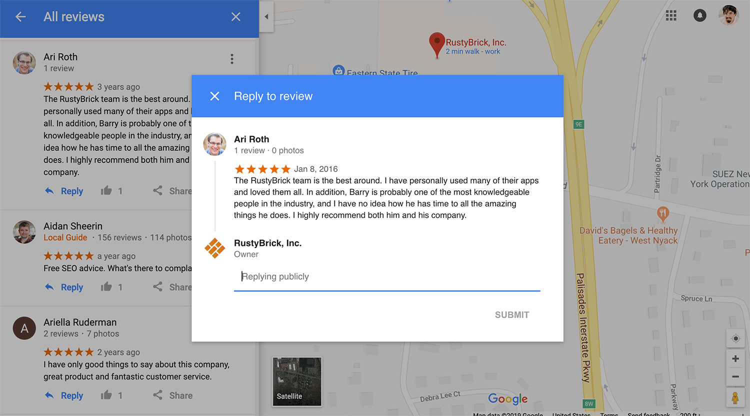Google Maps Now Allows Owners To Reply To Reviews On Maps ... on