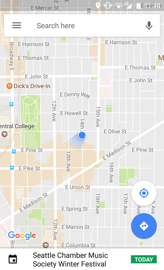 Google Maps Labeling Events Today On The Map