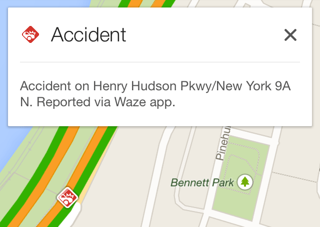 Google Maps App With Waze Data