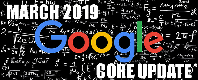 Algoritme Terbaru Google: March 2019 Core Update