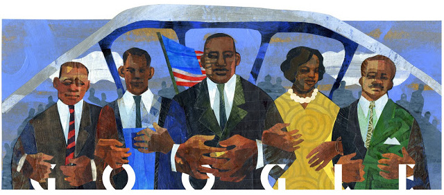 Google's Martin Luther King Jr. Day Logo