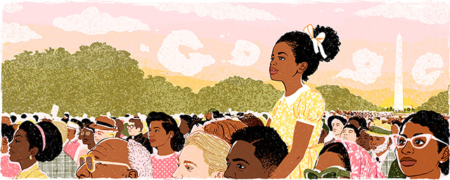 Martin Luther King Jr. Day 2018 Google