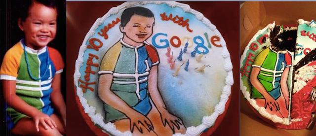 Mary Grove's Google Anniversary Cake