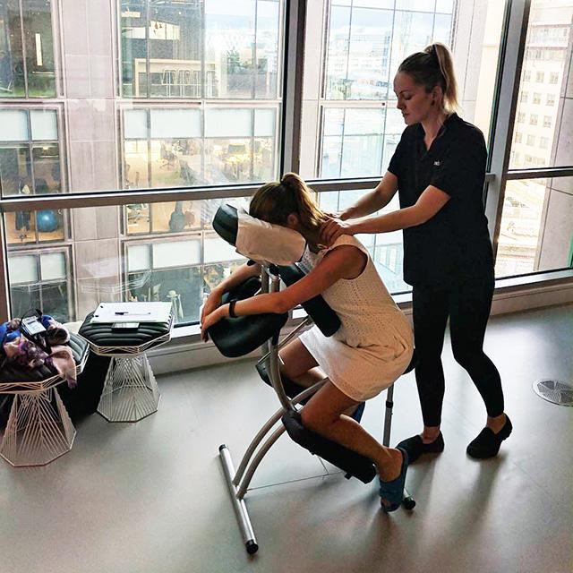 Google Massage In Action