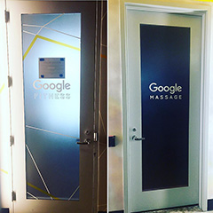 The Google Massage Room