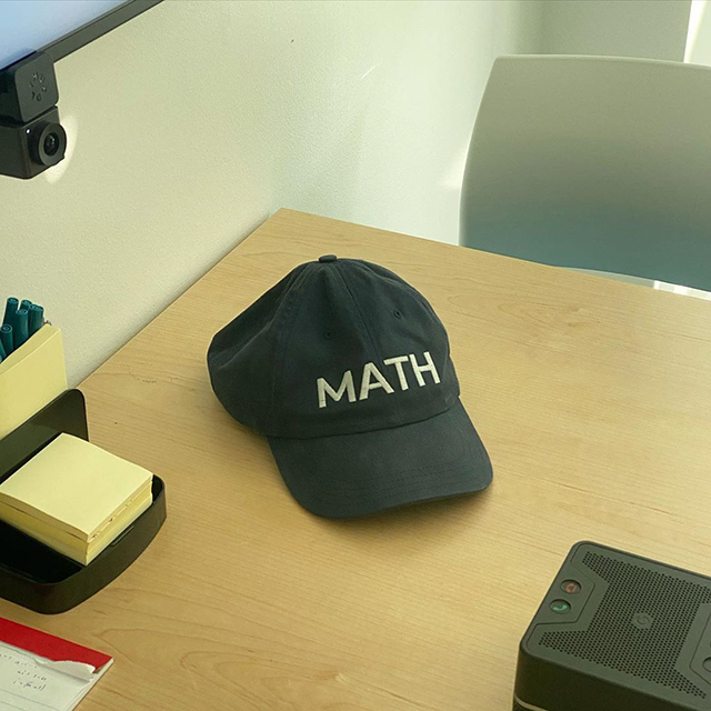 Old Math Hat At Google