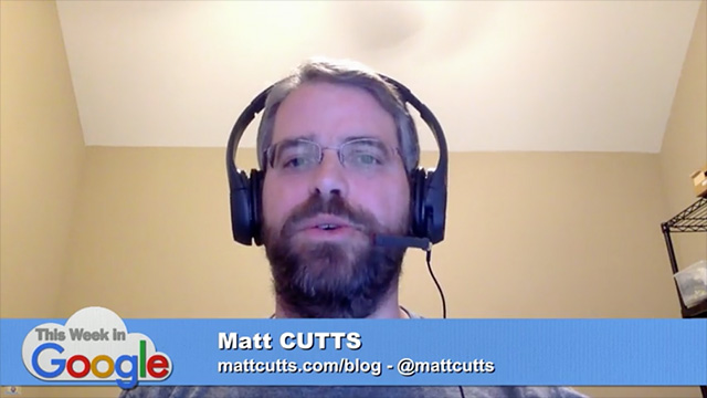 MAtt Cutts Core Update Explanation