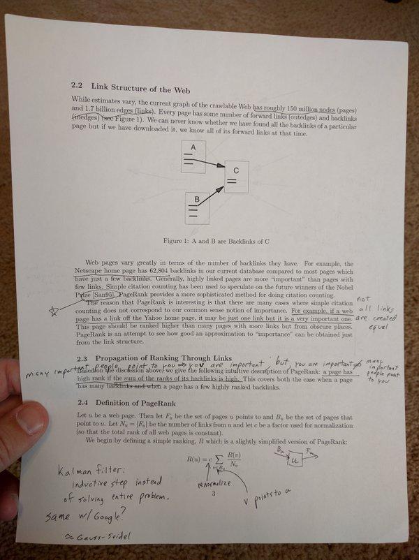 Matt Cutts заметки про PageRank