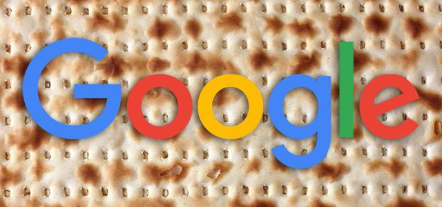 Google Matzah