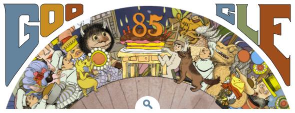Maurice Sendak Google Static Logo - Last Frame
