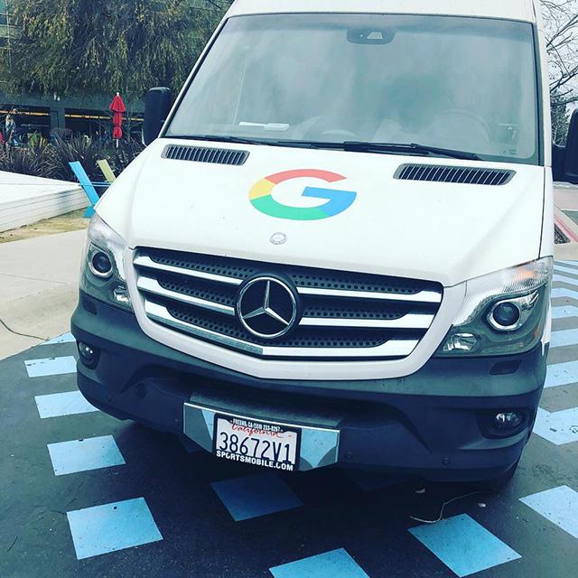Google Mercedes Van