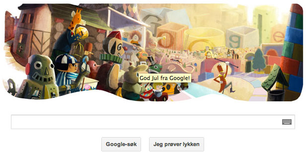 god jul fra google