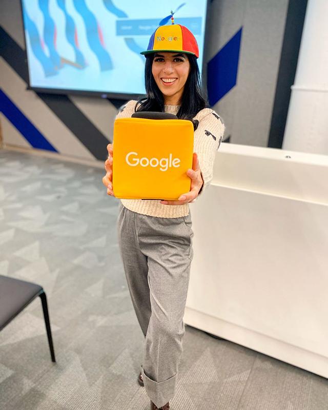 Google Microphone Catchbox