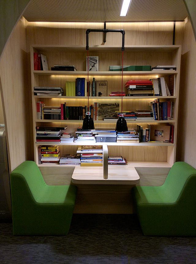 Google Micro Library In Madrid Office
