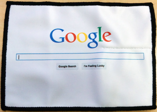 Google Pocket Microfiber Touchscreen Cleaner