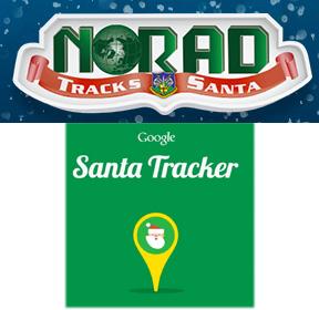 Google & Microsoft Santa Tracking