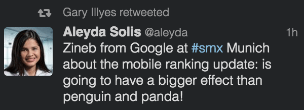 google mobile friendly large
