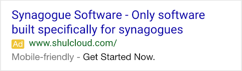 Google Mobile Friendly Label On AdWords Ads