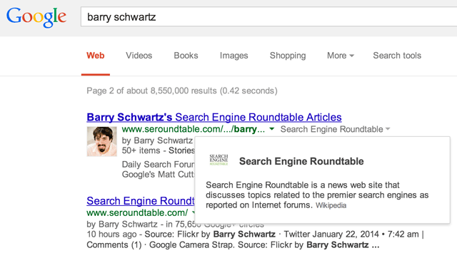 Google's New Knowledge Graph Snippet Overlay