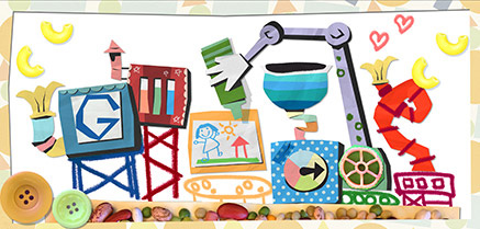 Google Mother's Day Logo 2013