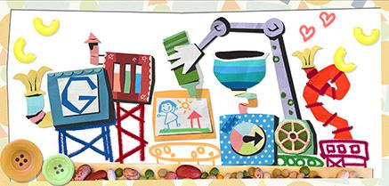Google Mother's Day Logo 2013