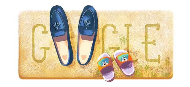 Google's Mother's Day Logo Has Shoes