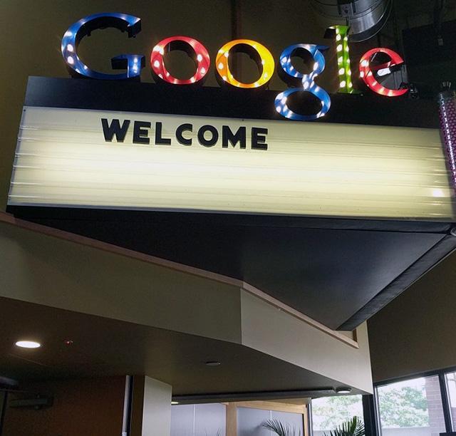 Google Movie Theatre Sign
