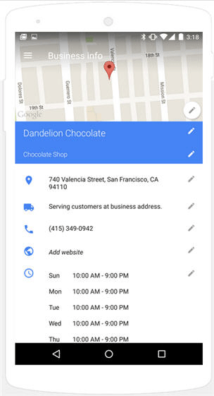Google My Business App Revamped