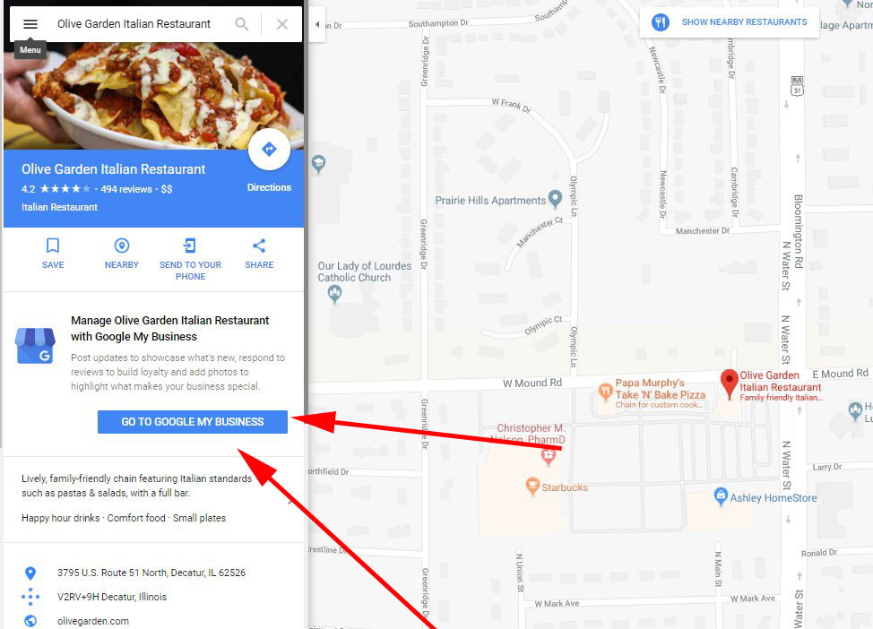 Google My Business Cards In Google Maps Listings Promotes Edits on map business card maker, list my business, map cartoons, expanded my business, map travel, save my business,