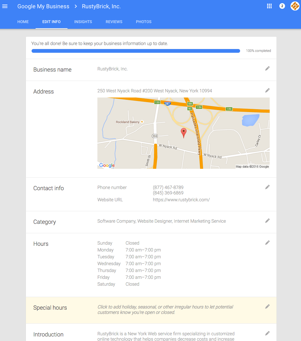 Now Google My Business Lets You Set Special Hours In Card View