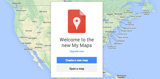 Google\'s New My Maps - Upgrade Now