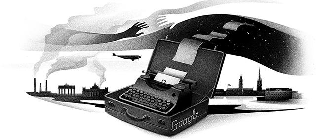 Nelly Sachs, Jewish German-Swedish Poet, Gets A Google Doodle