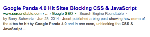 Google Authorship without Image
