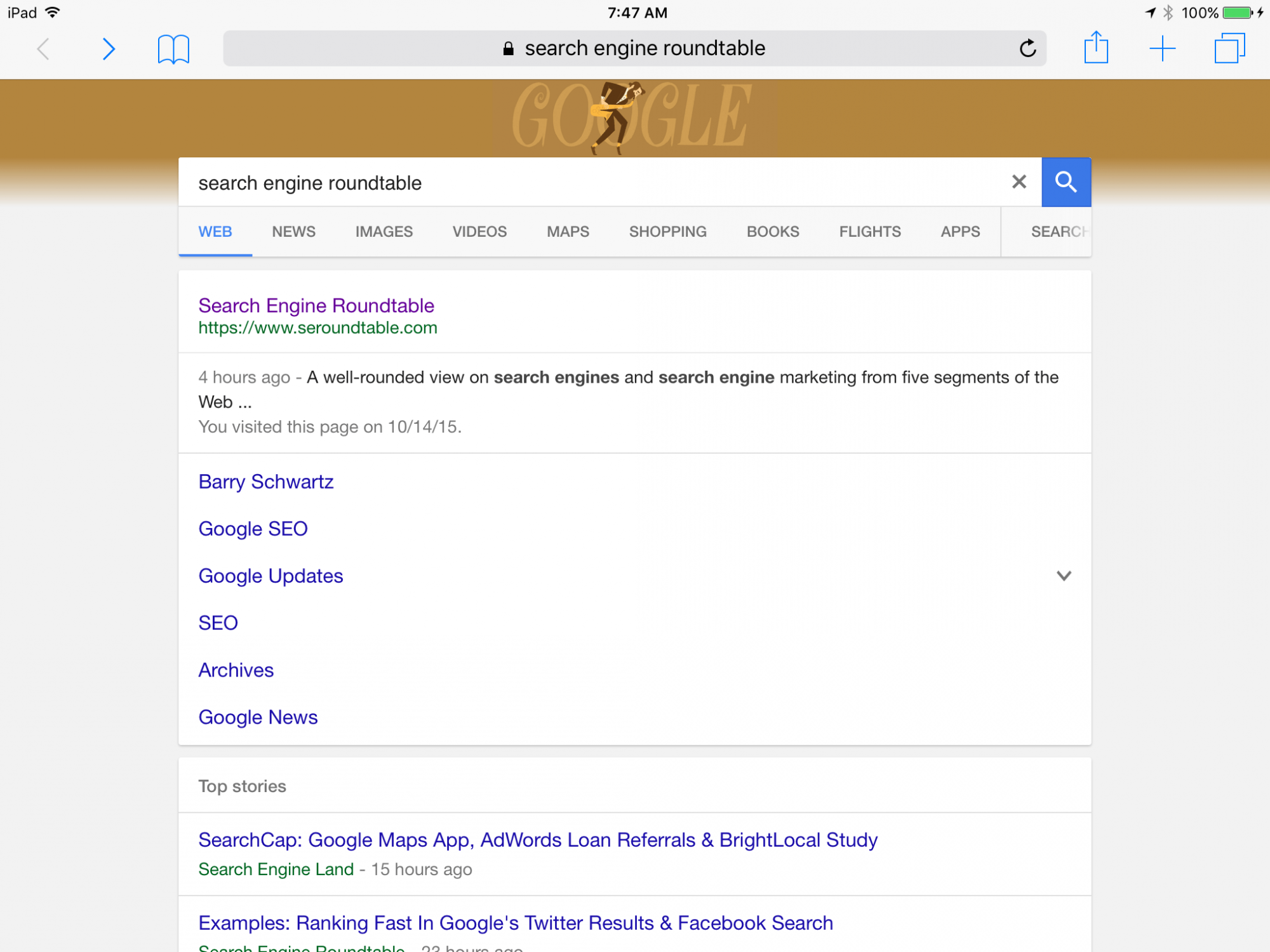 Wondrous Google Launches New Tablet Search Results Interface Download Free Architecture Designs Ferenbritishbridgeorg