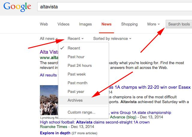 Google News Archives Returns