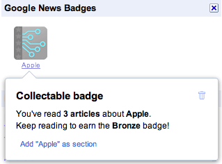 Apple News Google NEws Badge