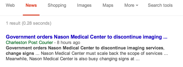 The Charleston Post & Courier  in Google News