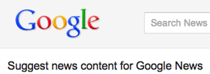 Google News Submission