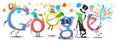Google New Years logo